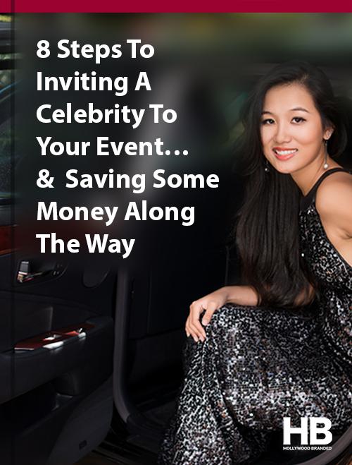celebrity event ebook