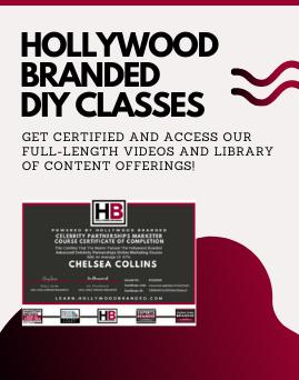 hollywood branded diy classes